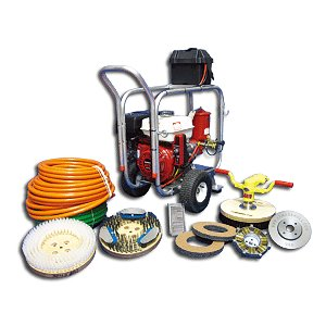 AS 108 Hydraulic Power Package (Gasoline)